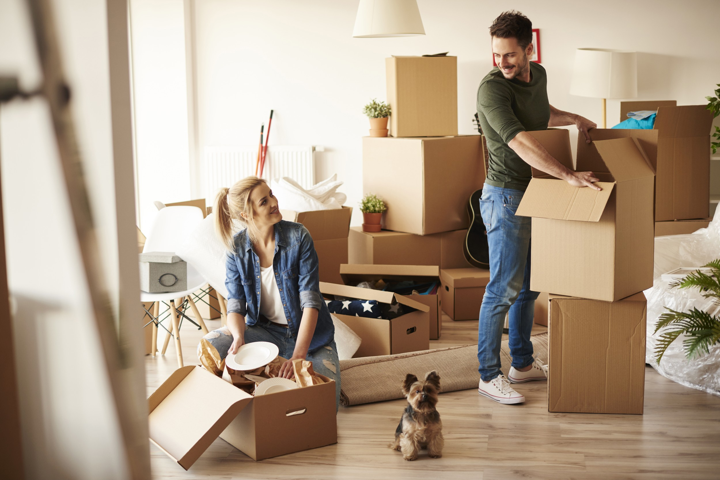 Five top tips for a stress-free house move